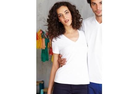 Damska Koszulka z Trójkątnym Dekoltem ELECTRA Kariban