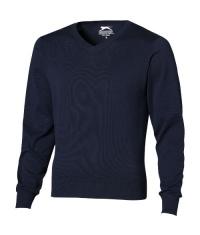 Sweter z dekoltem typu V