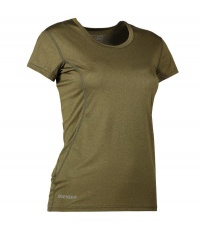 Damski T-shirt Active Olive melange