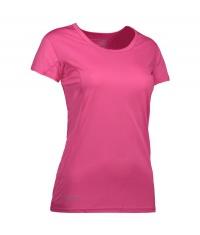 Damski T-shirt Active Pink