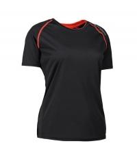 Damski T-shirt Urban Black