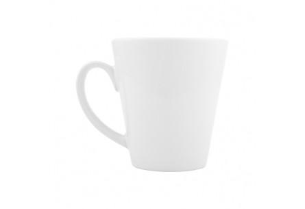 Ceramiczny kubek o kształcie litery