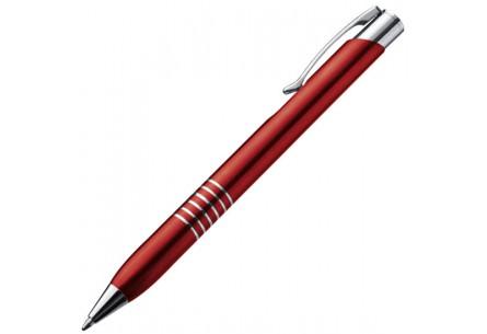 Długopis metalowy czerwony
