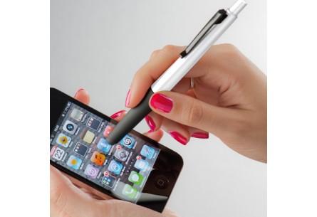 Zestaw podstawka do telefonu i długopis