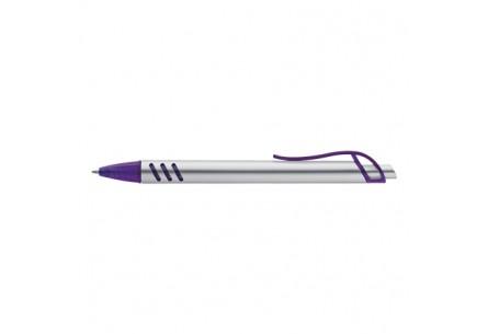 Długopis plastikowy fioletowy