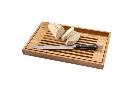 Deska do krojenia wraz z nożem do pieczywa