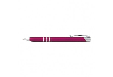 Długopis metalowy różowy