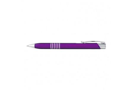 Długopis metalowy fioletowy