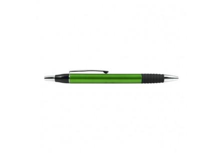Plastikowy długopis o metalicznym połysku