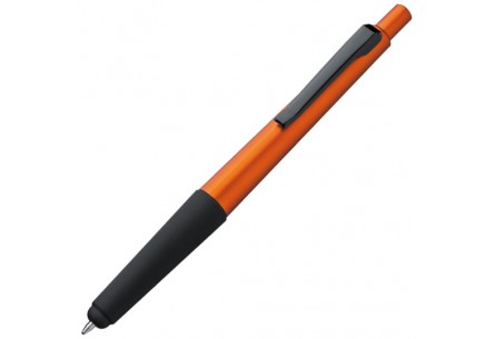 Długopis plastikowy z rysikiem do ekranów dotykowych