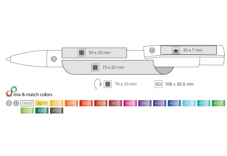 Długopis Stratos Transparent Ritter Pen