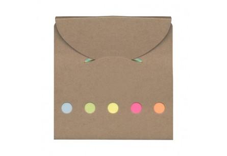 Zestaw kolorowych karteczek samoprzylepnych