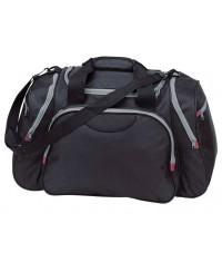 Czarna torba podróżna