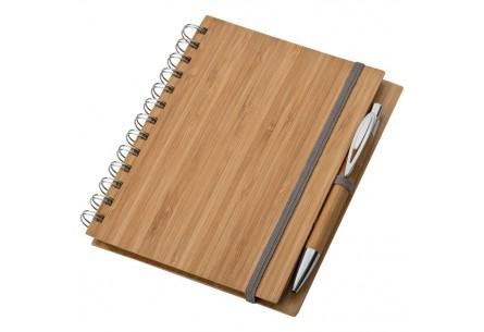 Bambusowy notes z okładką w formacie A5