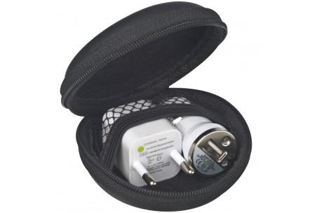 Zestaw podróżny- ładowarka USB
