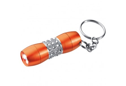 Mała latarka z kryształkami