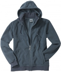Męski Polar Micro Fleece Hooded James & Nicholson