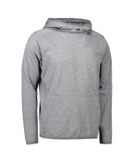 Męska bluza z kapturem Grey melange