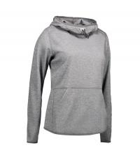 Damska bluza z kapturem Grey melange