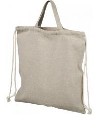 Plecak Pheebs z bawełnianym sznurkiem ściągającym z recyklingu