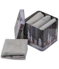Zestaw 4 ręczników w pudełku