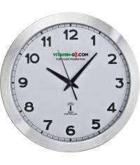 Duży zegar ścienny z metalu